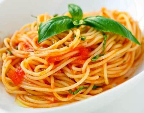 Ristorante Cassano d'Adda spaghetti pomodorini e cacio